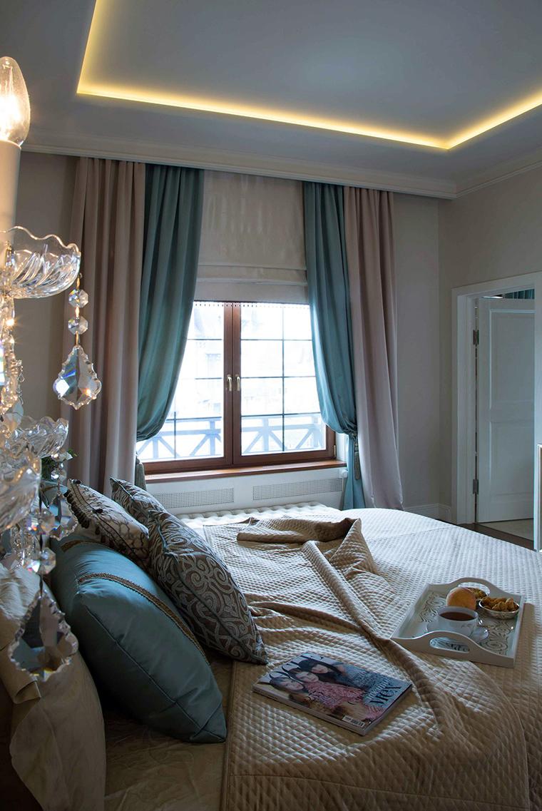 интерьер спальни - фото № 56941