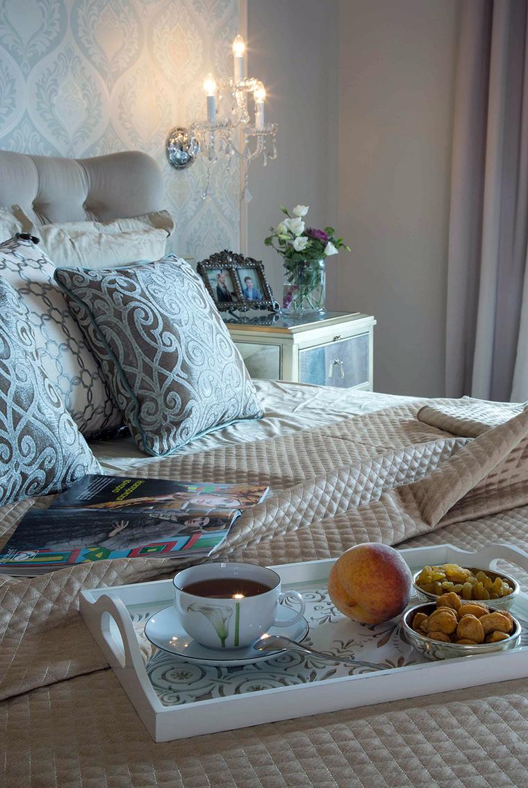 интерьер спальни - фото № 56942