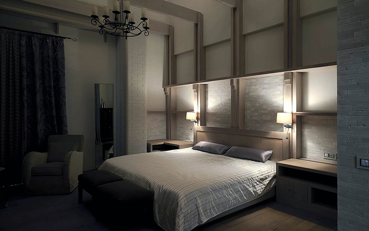 Фото № 57110 спальня  Загородный дом