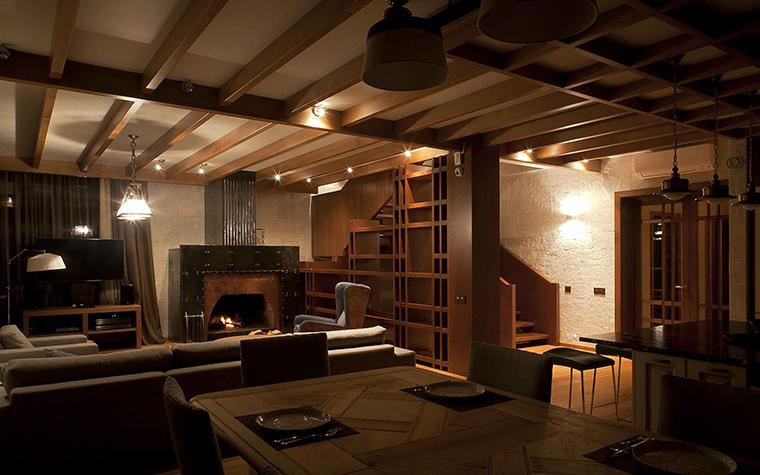 Фото № 57103 гостиная  Загородный дом