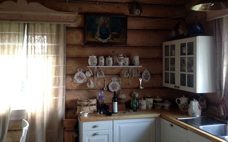 Фото № 57176 кухня  Загородный дом