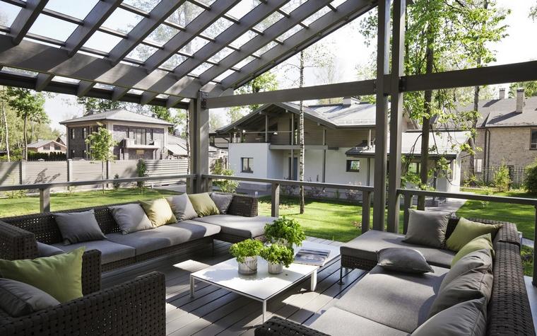 Загородный дом. терраса  из проекта , фото №57208