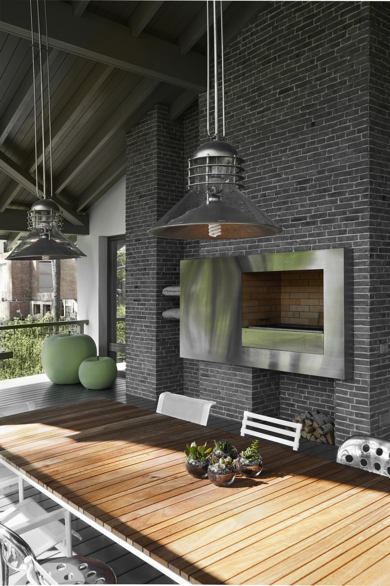 Загородный дом. терраса  из проекта , фото №57209