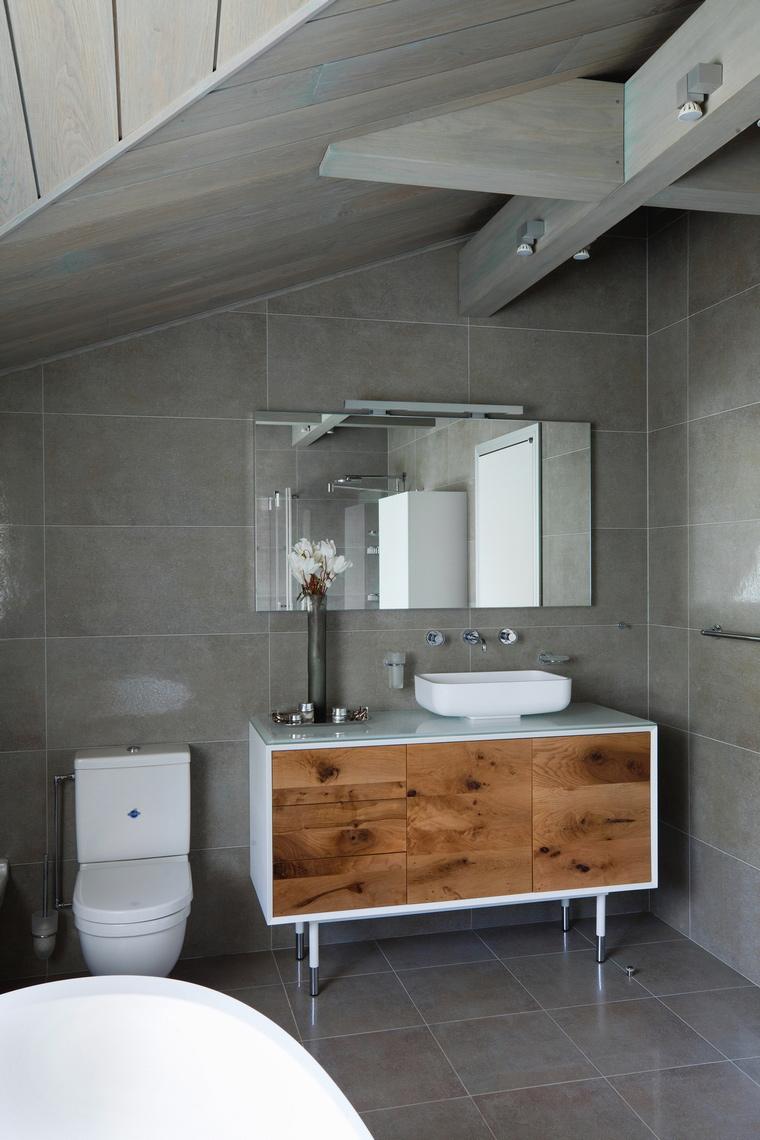 Фото № 57198 ванная  Загородный дом