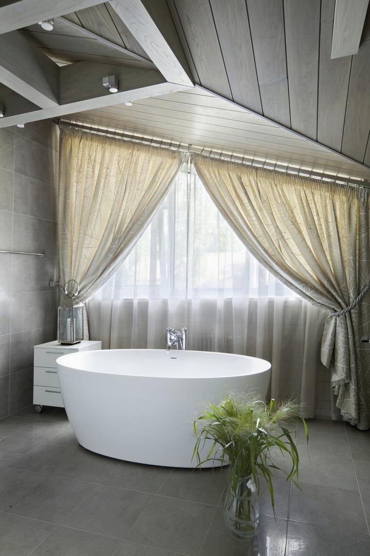 Фото № 57199 ванная  Загородный дом