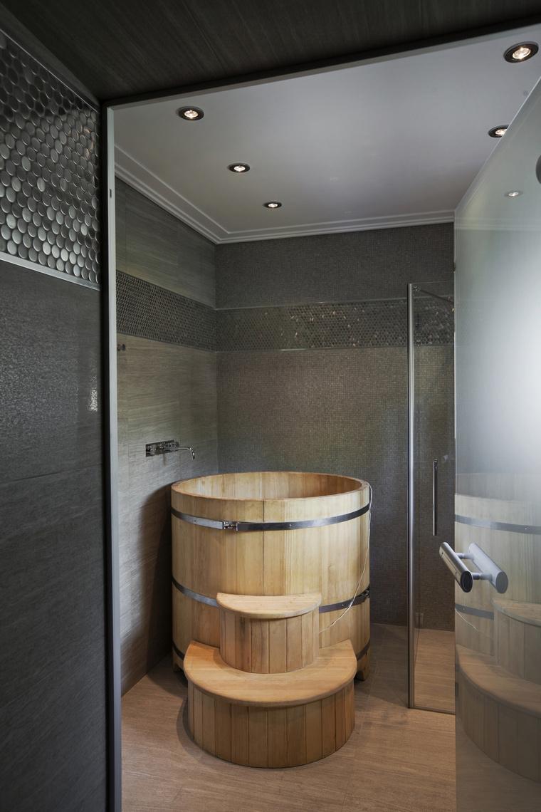 Фото № 57205 ванная  Загородный дом