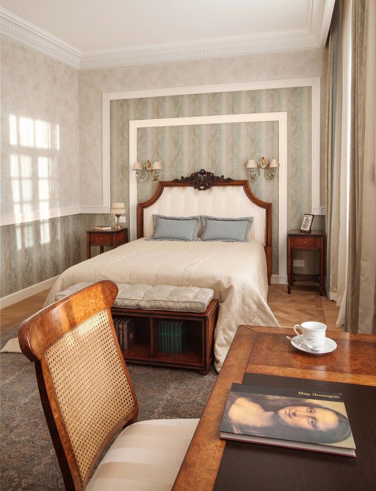 Фото № 57225 спальня  Загородный дом