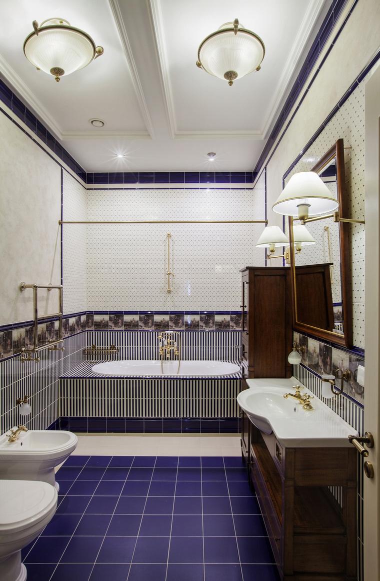 интерьер ванной - фото № 57233