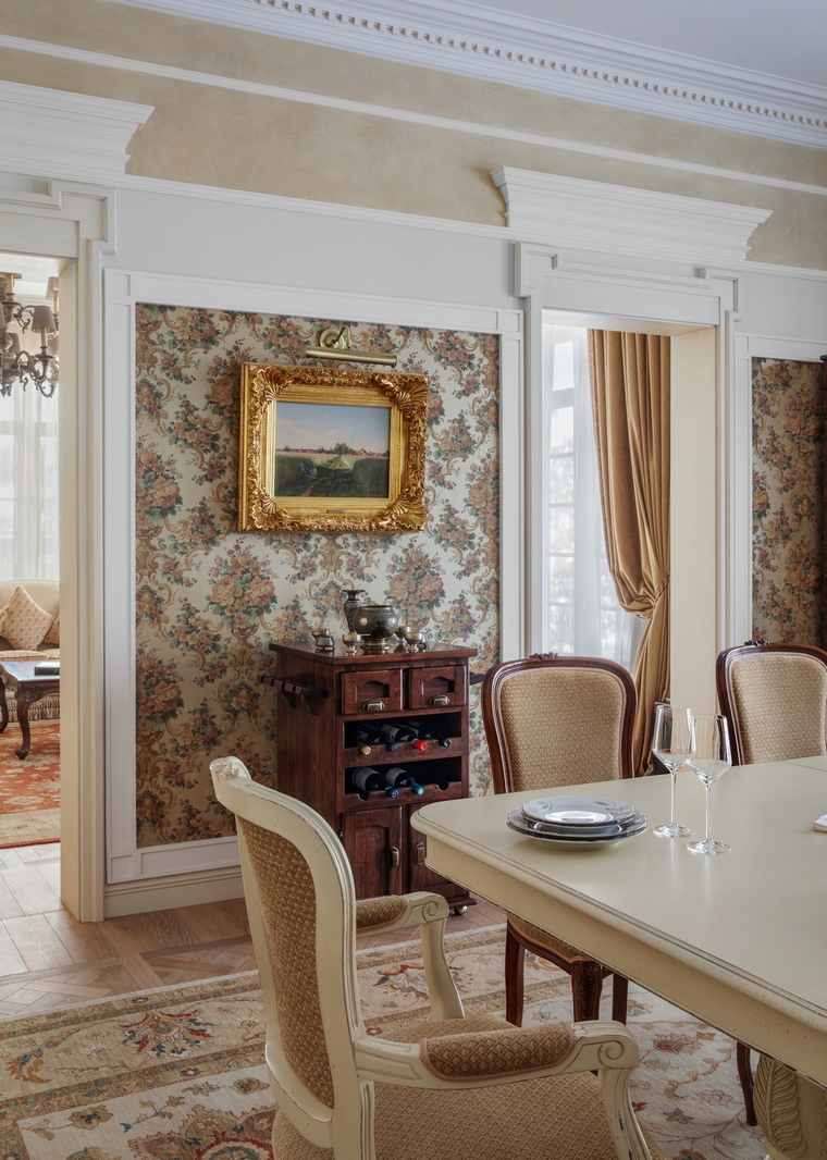 Загородный дом. столовая из проекта , фото №57221