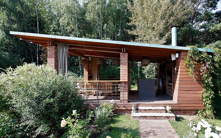 Загородный дом. барбекю  из проекта , фото №57352