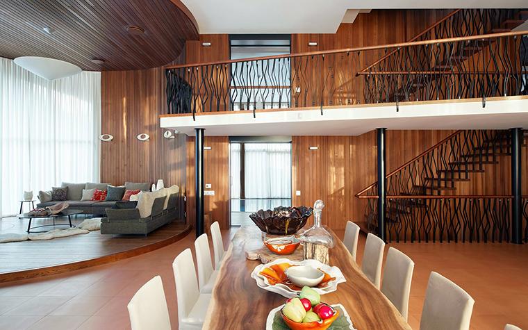 Загородный дом. столовая из проекта , фото №57353