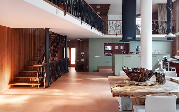 Загородный дом. холл из проекта , фото №57355