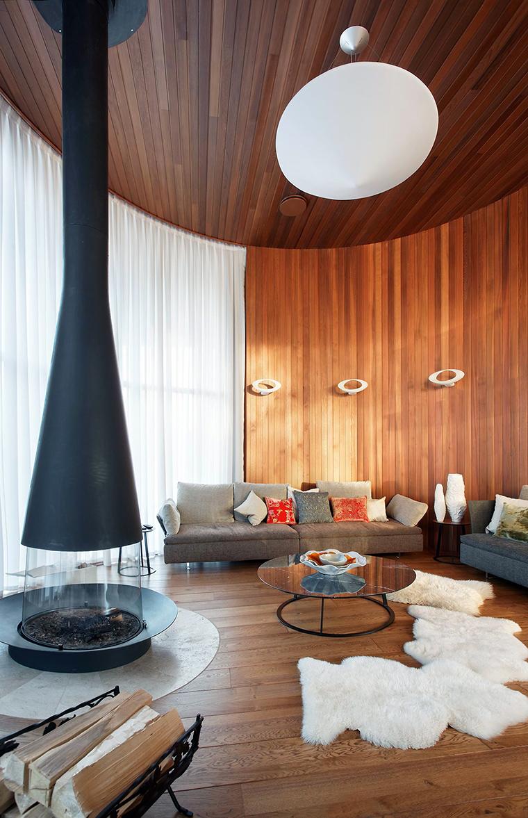 интерьер гостиной - фото № 57357