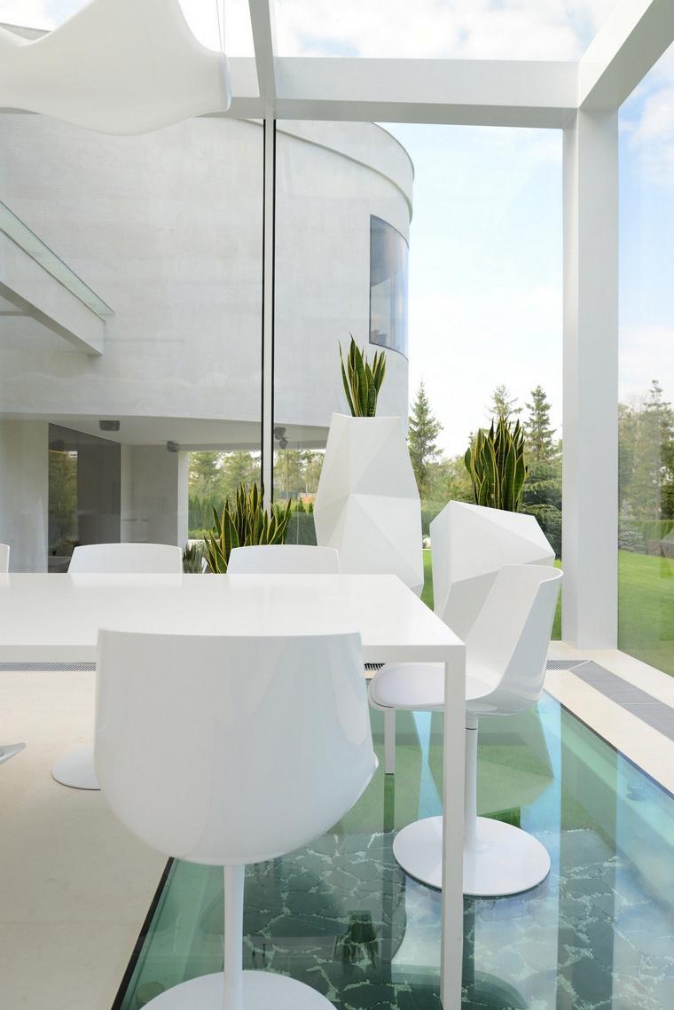 Загородный дом. столовая из проекта , фото №57508