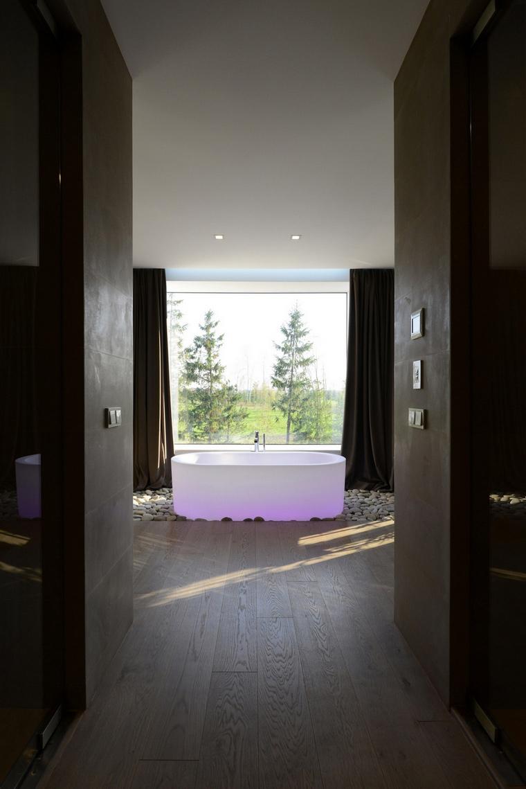 Загородный дом. ванная из проекта , фото №57530