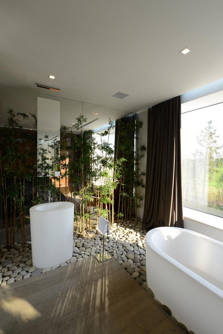 Загородный дом. ванная из проекта , фото №57531