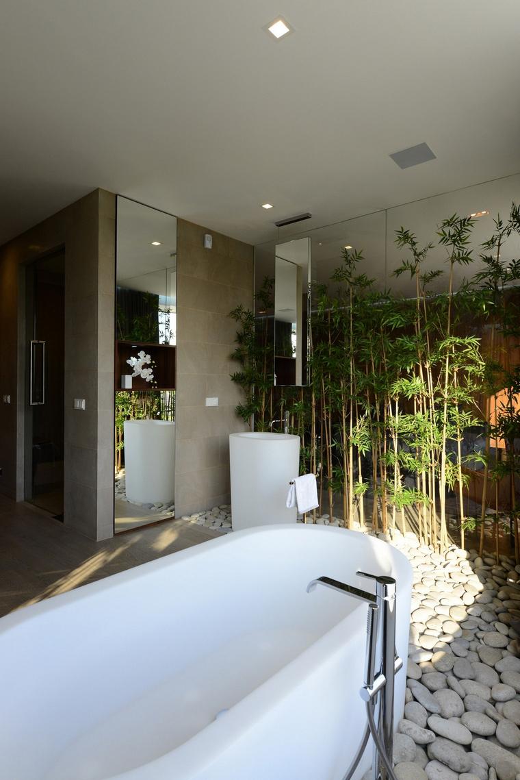 Загородный дом. ванная из проекта , фото №57532