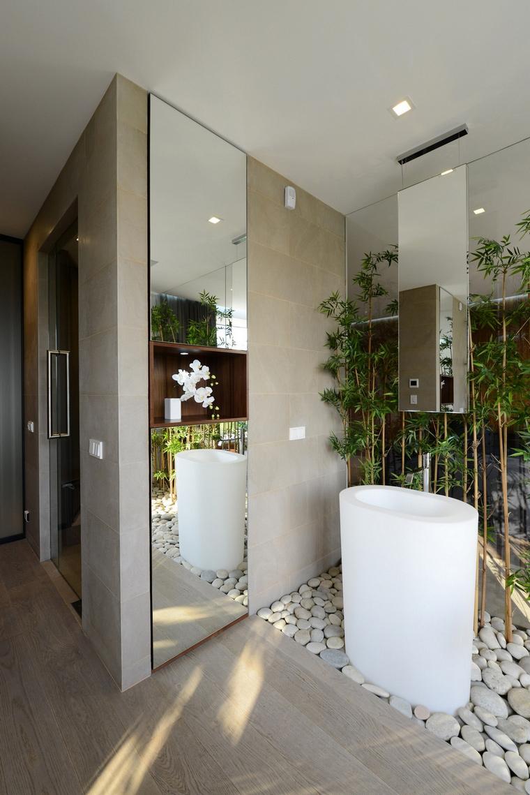 Загородный дом. ванная из проекта , фото №57533