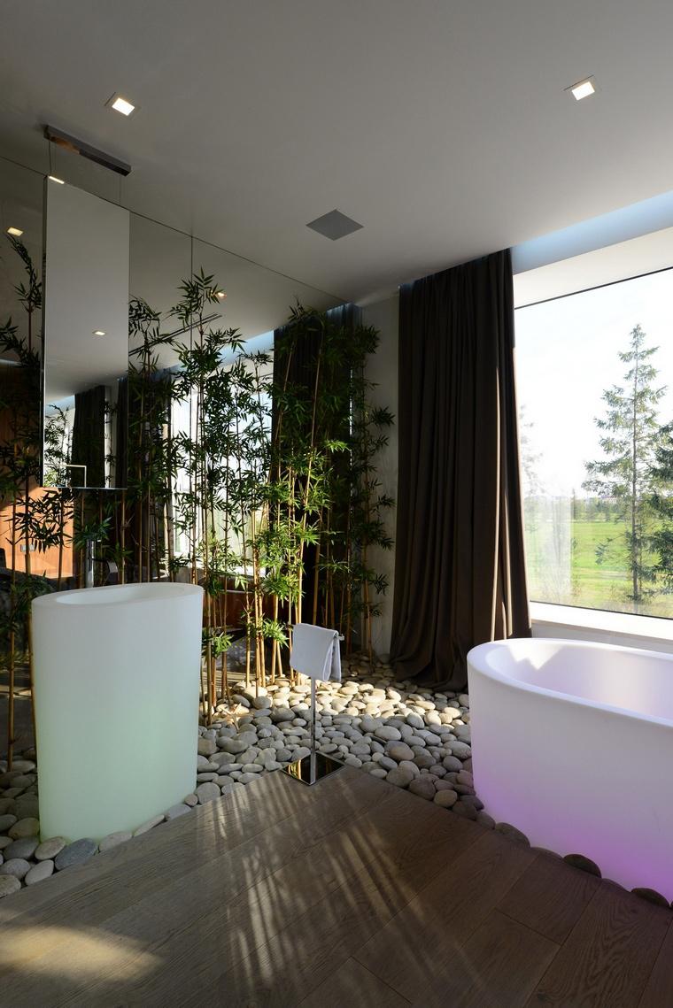 Фото № 57536 ванная  Загородный дом