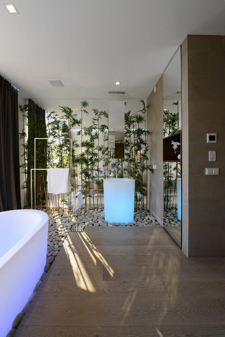Загородный дом. ванная из проекта , фото №57538