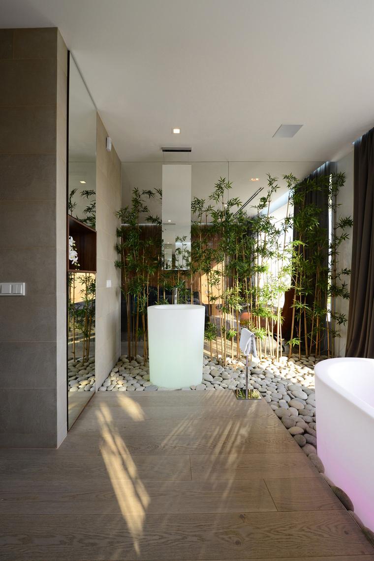 Загородный дом. ванная из проекта , фото №57539