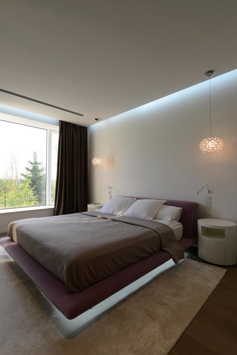 Загородный дом. спальня из проекта , фото №57517