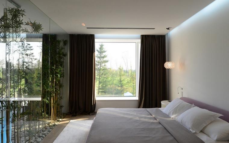 Загородный дом. спальня из проекта , фото №57518
