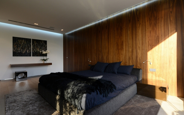 Загородный дом. спальня из проекта , фото №57520