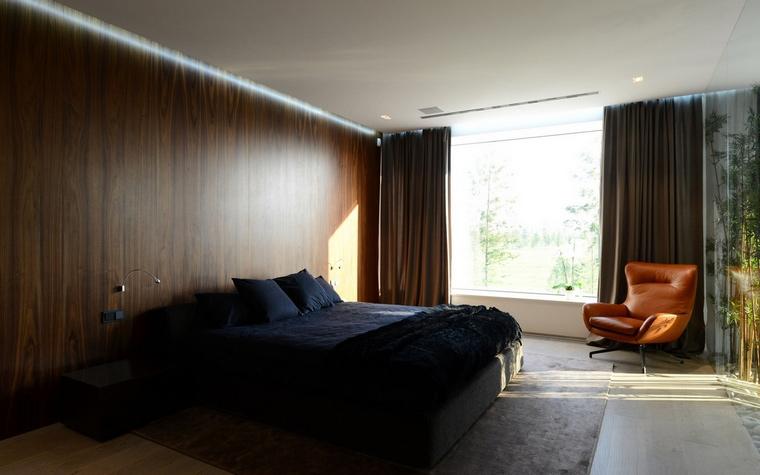 Загородный дом. спальня из проекта , фото №57522