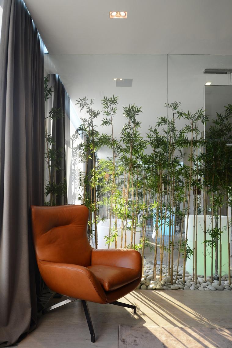 Загородный дом. спальня из проекта , фото №57524