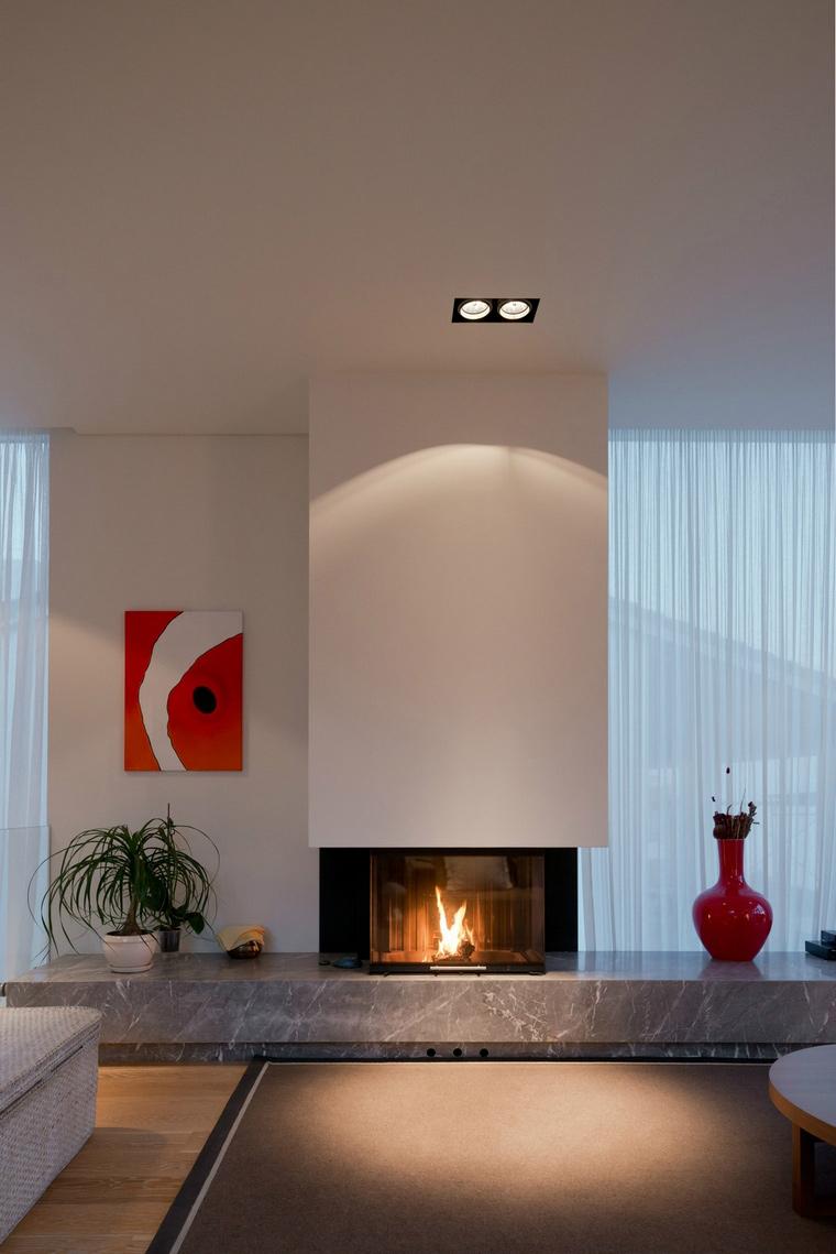 интерьер гостиной - фото № 57615