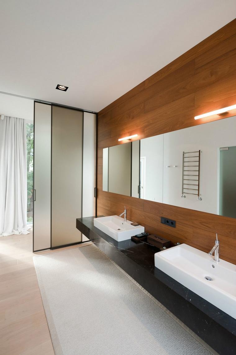 Фото № 57636 ванная  Загородный дом