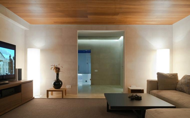 интерьер гостиной - фото № 57619
