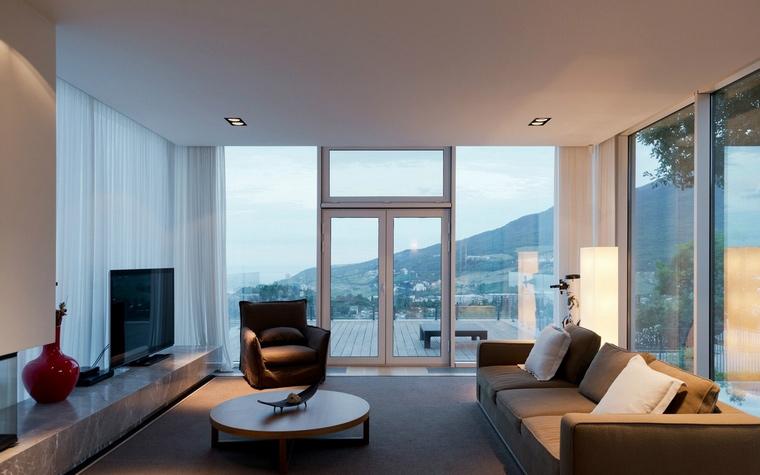 интерьер гостиной - фото № 57617