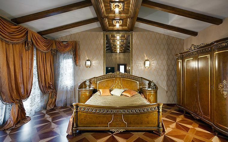 интерьер спальни - фото № 57726