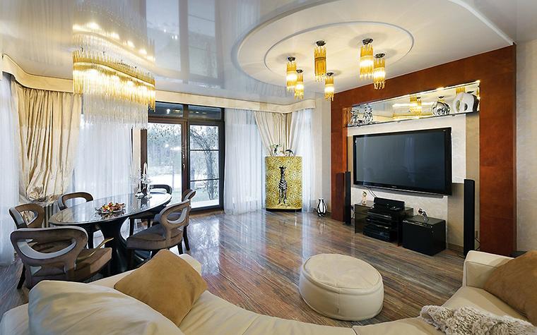 интерьер гостиной - фото № 57712