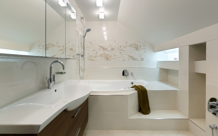 Фото № 57921 ванная  Загородный дом