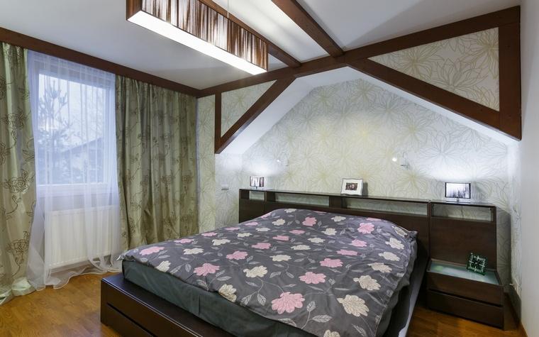 Фото № 57920 спальня  Загородный дом