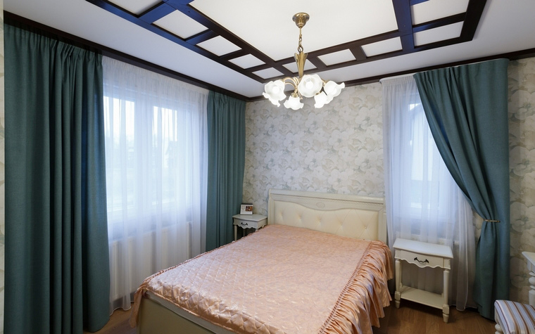интерьер спальни - фото № 57918