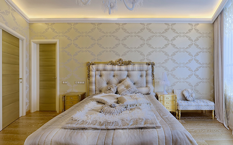 Фото № 57899 спальня  Загородный дом
