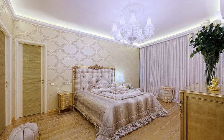 интерьер спальни - фото № 57901