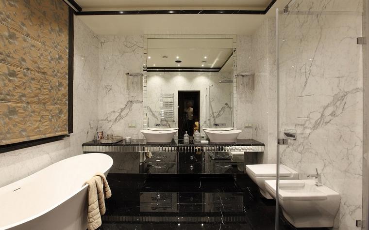 Фото № 58000 ванная  Загородный дом