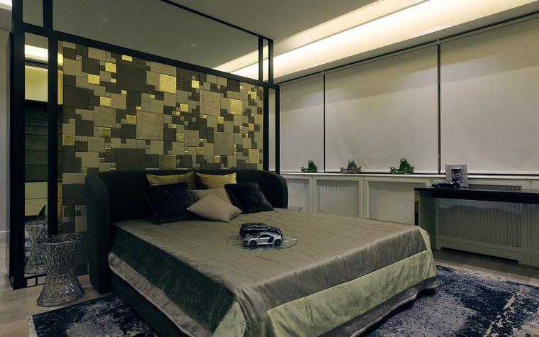 интерьер спальни - фото № 58001