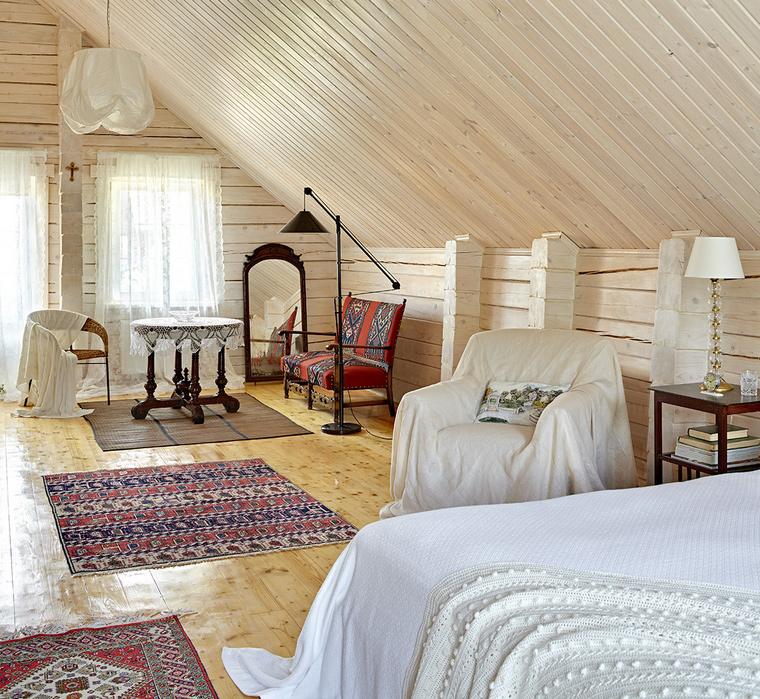 интерьер спальни - фото № 58025