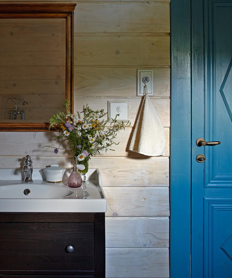 Фото № 58032 ванная  Загородный дом