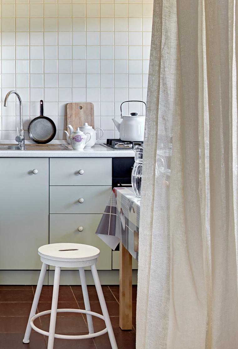 Фото № 58037 кухня  Загородный дом