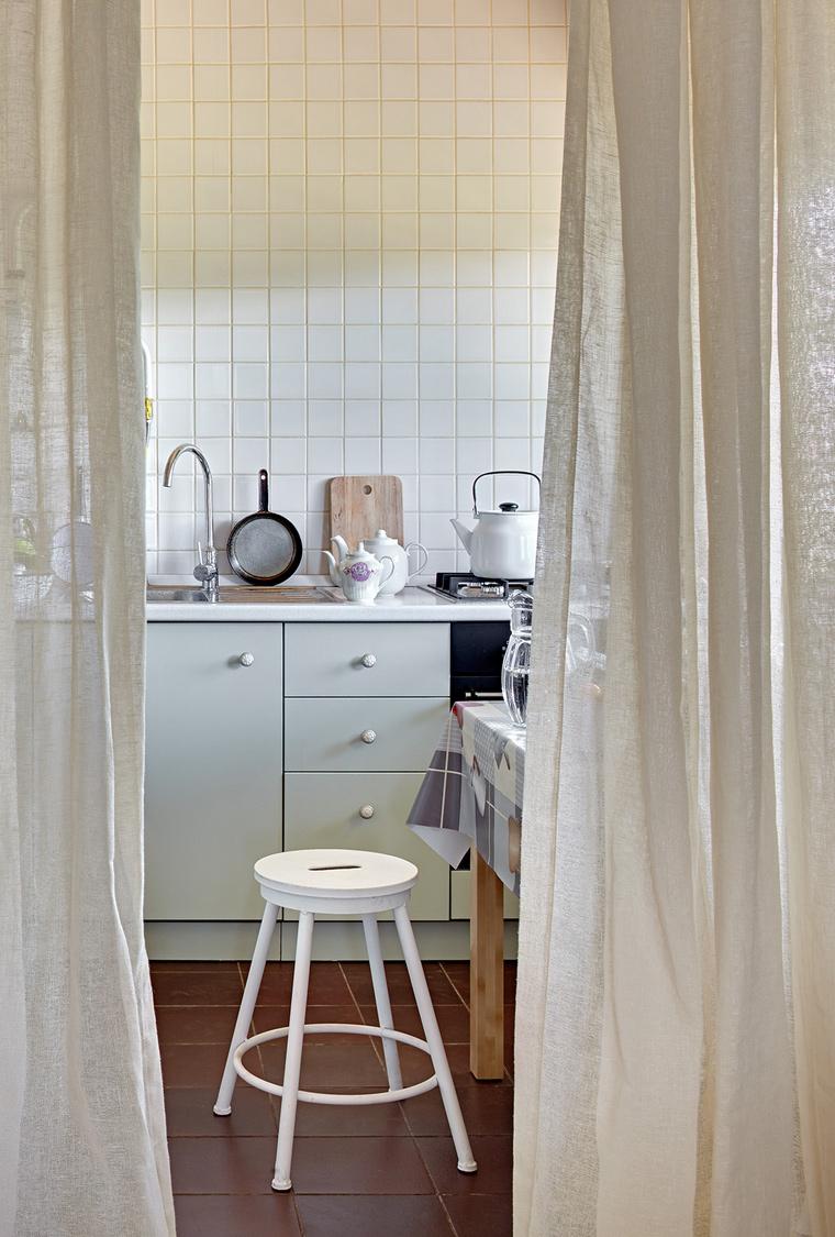 Фото № 58035 кухня  Загородный дом