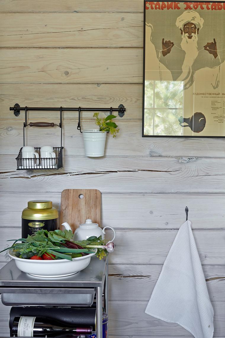 Фото № 58036 кухня  Загородный дом