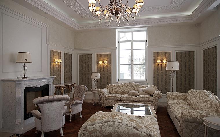 интерьер гостиной - фото № 58073
