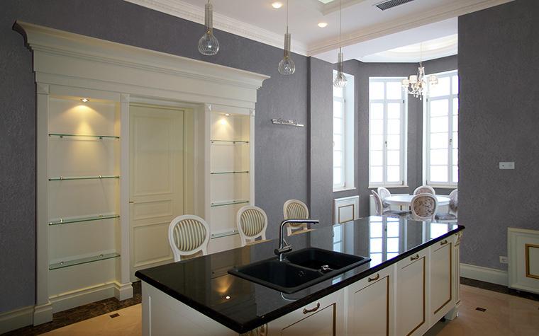 Фото № 58074 кухня  Загородный дом